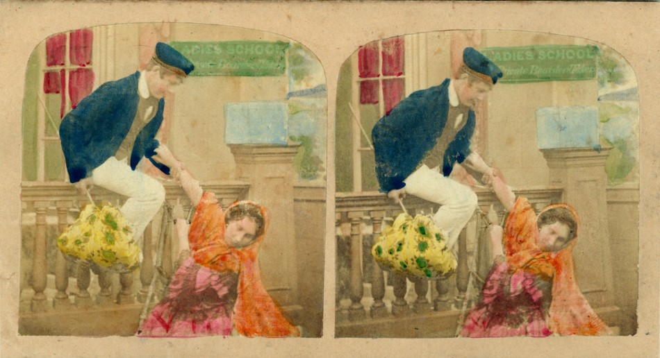 1860 The Elopement handtinted