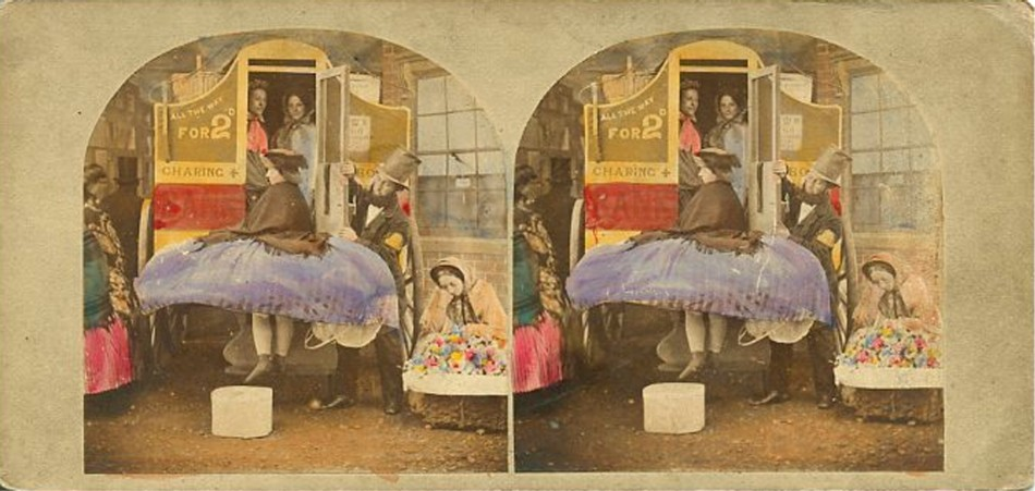3D 1860 Crinoline difficulties